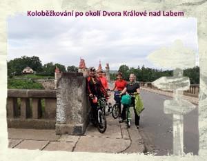 Koloběžkování po okolí Dvora Králové nad Labem - Zobrazit knihu