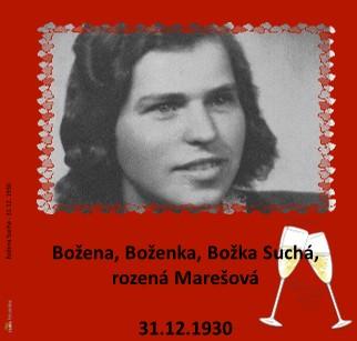 Božena Suchá - 31.12. 1930 - Zobrazit knihu
