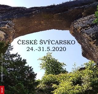 ČESKÉ ŠVÝCARSKO 24.-31.5.2020 - Zobrazit knihu