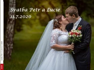 Svatba Petr a Lucie 11.7.2020 - Zobrazit knihu