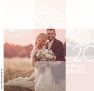 SVATBA Denisa & Luboš 8. 8. 2020 - Zobrazit knihu