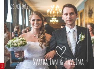 Svatba Jan & Pavlína - Zobrazit knihu