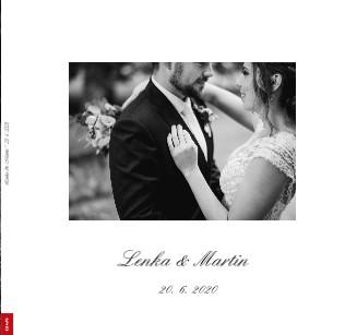 Svatba Lenka & Martin - Zobrazit knihu