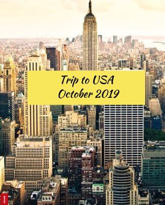 Trip to USA  -  October 2019 - Zobrazit knihu