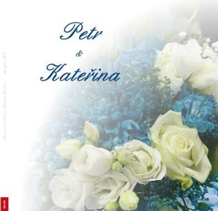 Novomanželé Petr a Kateřina Bruhovi 29. srpna 2020 - Zobrazit knihu