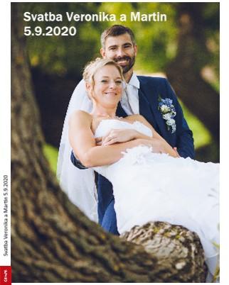 Svatba Veronika a Martin 5.9.2020 - Zobrazit knihu