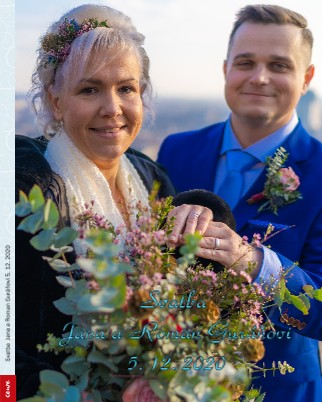 Svatba Jana a Roman Guráňovi 5. 12. 2020 - Zobrazit knihu