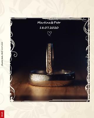 Svatební kniha M&P 18.07.2020 - Zobrazit knihu