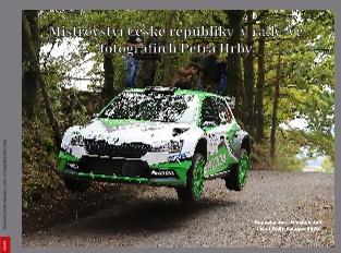 Mistrovství České republiky v rally ve fotografiích Petra Hrby - Zobrazit knihu
