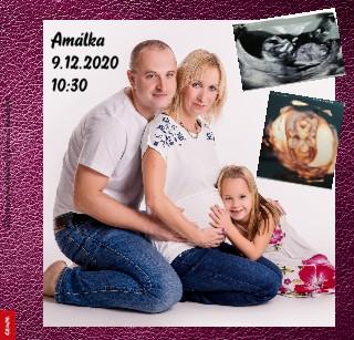 Těhotenství a Amálka focení ve Václavově - Zobrazit knihu