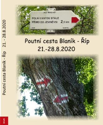 Poutní cesta Blaník - Říp 21.-28.8.2020 - Zobrazit knihu