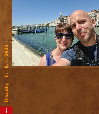 Benátky 6. - 9. 7. 2020 - Zobrazit knihu