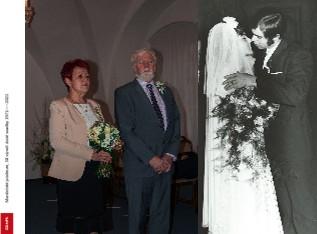 Manželské jubileum, 50 výročí zlaté svadby 1971-----2021 - Zobrazit knihu