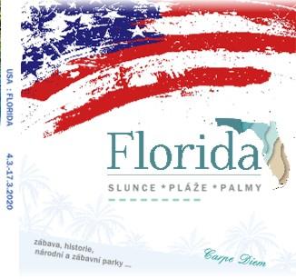 USA : FLORIDA 4.3.-17.3.2020 - Zobrazit knihu