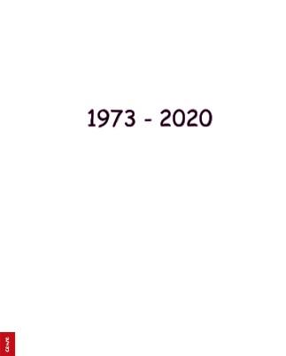 1973 - 2020 - Zobrazit knihu