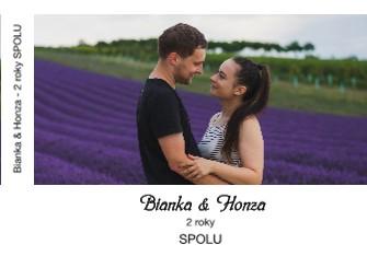 Bianka & Honza - 2 roky SPOLU - Zobrazit knihu