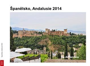 Španělsko, Andalusie 2014 - Zobrazit knihu