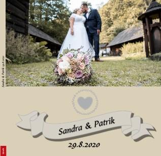 Sandra & Patrik 29.8.2020 - Zobrazit knihu