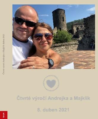 Čtvrté výročí Andrejka a Majklík 8. duben 2021 - Zobrazit knihu