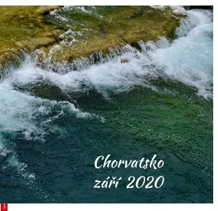 Chorvatsko září 2020 - Zobrazit knihu