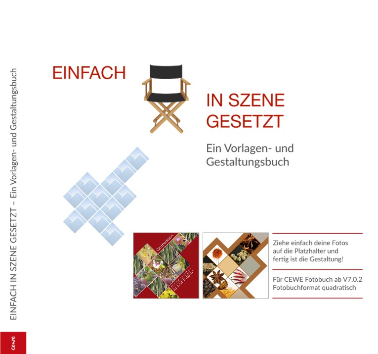 EINFACH IN SZENE GESETZT – Ein Vorlagen- und Gestaltungsbuch