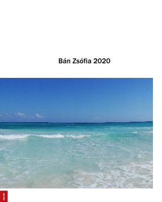Bán Zsofia 2020 - Zobraziť fotoknihu