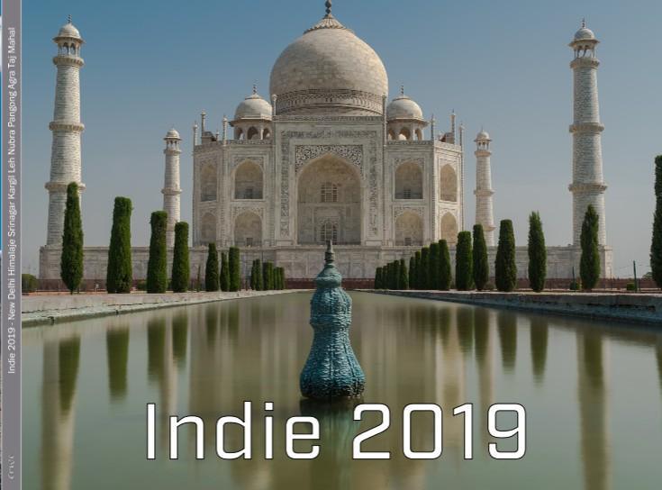 Indie 2019 - New Delhi Himalaje Srinagar Kargil Leh Nubra Pangong Agra Taj Mahal