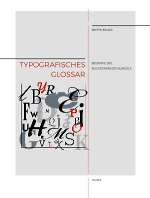 Typografisches Glossar - jetzt anschauen