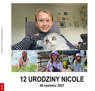 12 URODZINY NICOLE - 06 czerwiec 2021 - Zobacz teraz