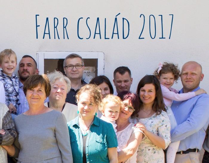 Farr család 2017