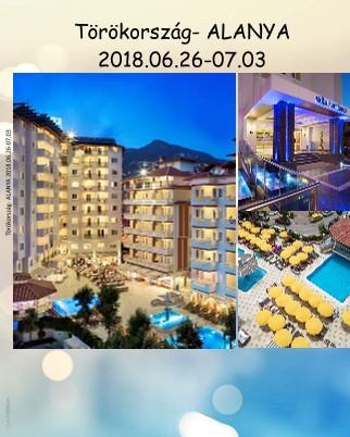 Törökország- ALANYA 2018.06.26-07.03 - Megtekintés