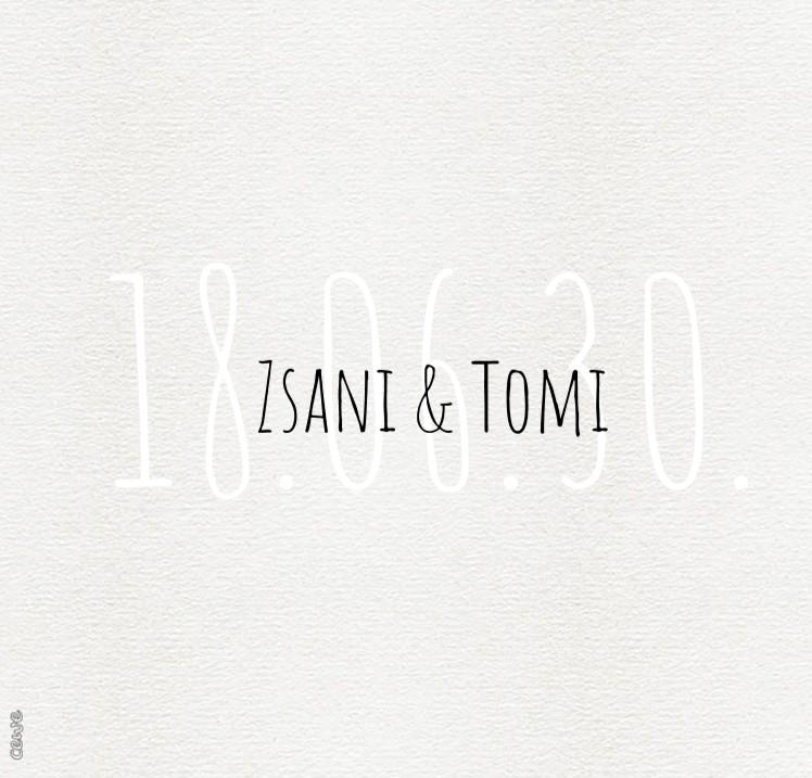 Zsani & Tomi esküvő