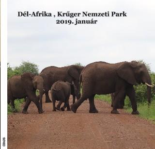 Dél-Afrika , Krűger Nemzeti Park 2019. január - Megtekintés