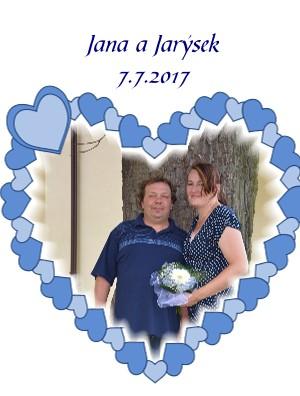 Jana a Jarýsek 7.7.2017 - Zobrazit knihu