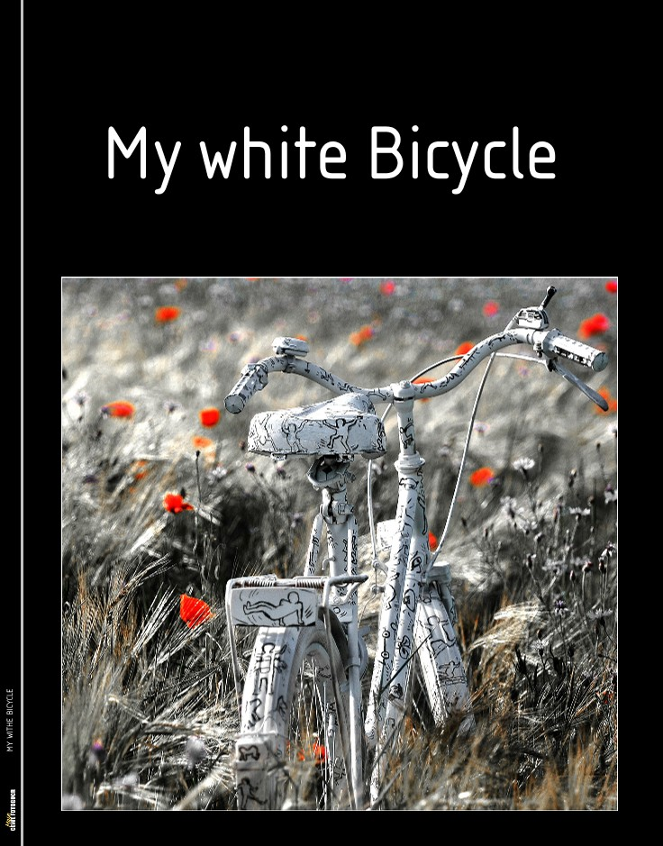 MY WITHE BICYCLE