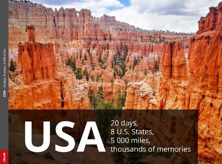 USA - 20 days, 8 states, 5 000 miles