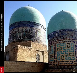 Uzbekistan /Taškent, Samarkand/ 19. - 30.7.2017 - Zobraziť fotoknihu