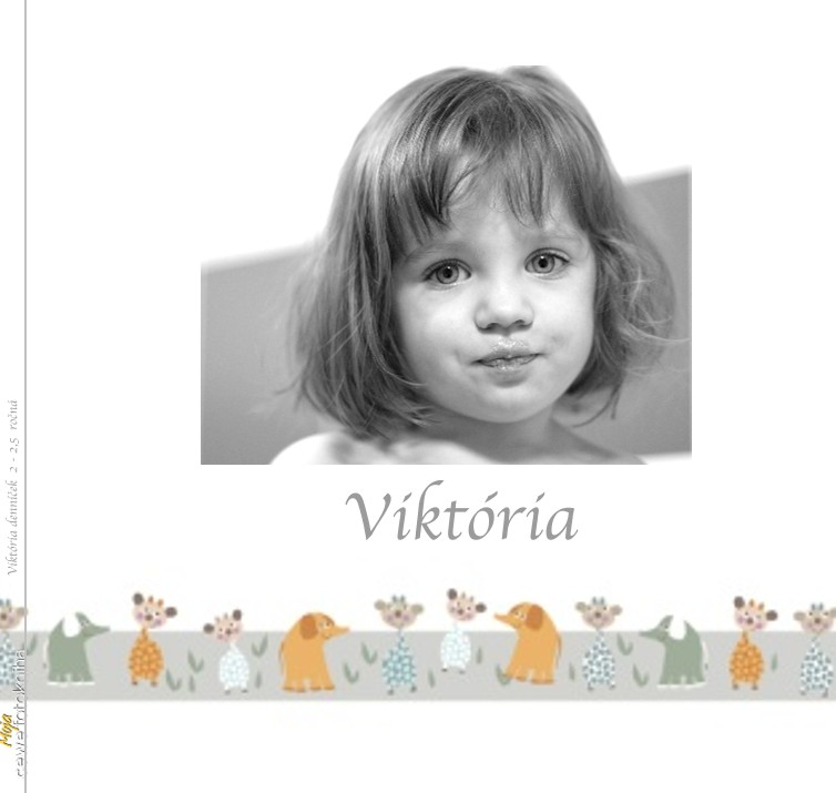 Viktória denníček 2 - 2,5 ročná