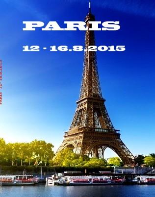 PARIS 12- 16.8.2015 - Zobraziť fotoknihu
