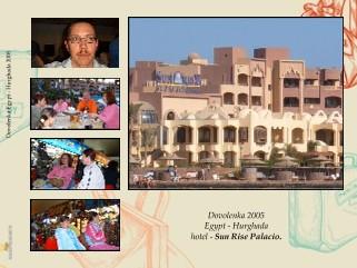 Dovolenka Egypt - Hurghada 2005 - Zobraziť knihu