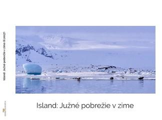 Island: Južné pobrežie v zime - Zobraziť fotoknihu