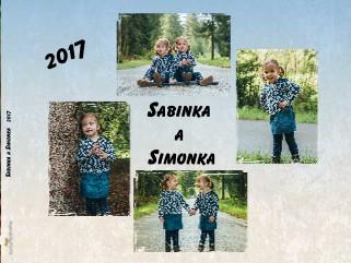 Sabinka a Simonka 2017 - Zobraziť knihu