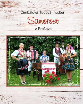 Cimbálová ľudová hudba Samorost z Prešova - Zobraziť fotoknihu