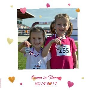 Emma és Hanna 2014-2017 - Zobraziť fotoknihu