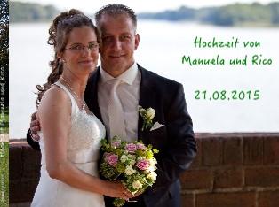 Hochzeit Manuela und Rico - jetzt anschauen