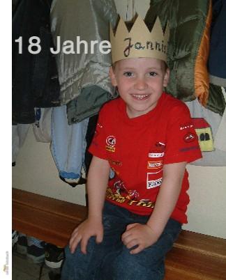 18 Jahre Jannis - jetzt anschauen