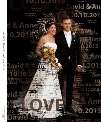 Hochzeit David & Anne 10.10.2015 - jetzt anschauen