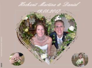 Hochzeit Martina & Daniel 19.08.2017 - jetzt anschauen