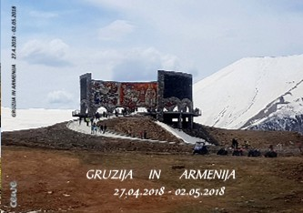 GRUZIJA IN ARMENIJA 27.4.2018 - 02.05.2018 - Pokaži knjigo