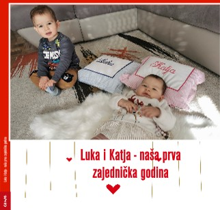 Luka i Katja - naša prva zajednička godina - Pregled